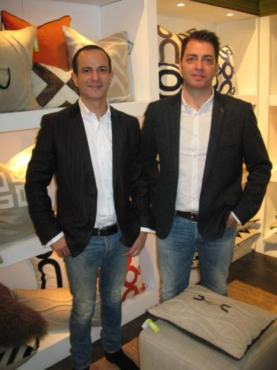 Rafael Velazquez and Mariano Micheli, owners and creators of V Rugs and Home.